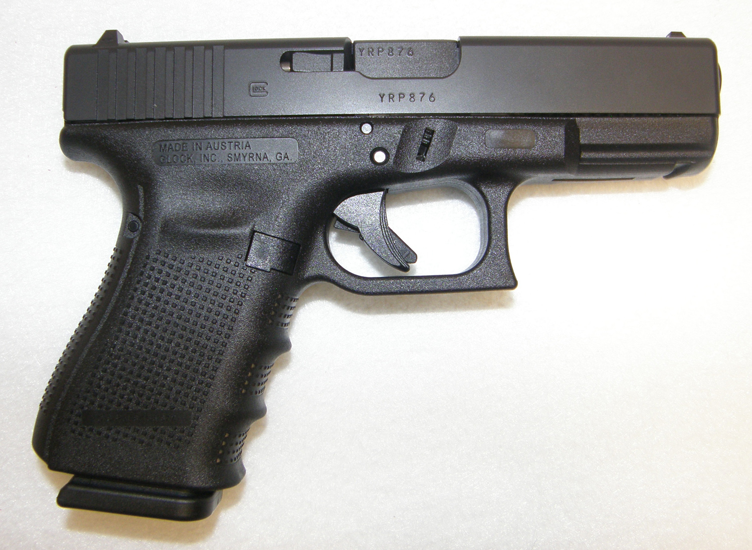 Glock 19 Gen 4 9mm Compact Pistol (New) | Rare Collectible ...