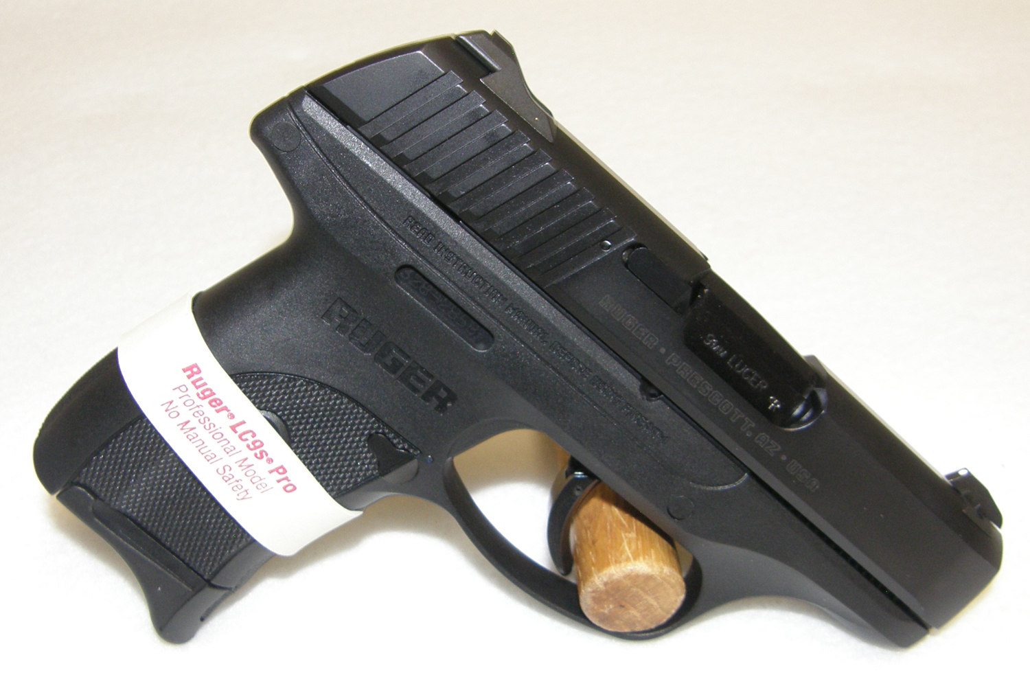 Ruger Lc9s Pro 9mm Concealed Carry Pistol No Thumb