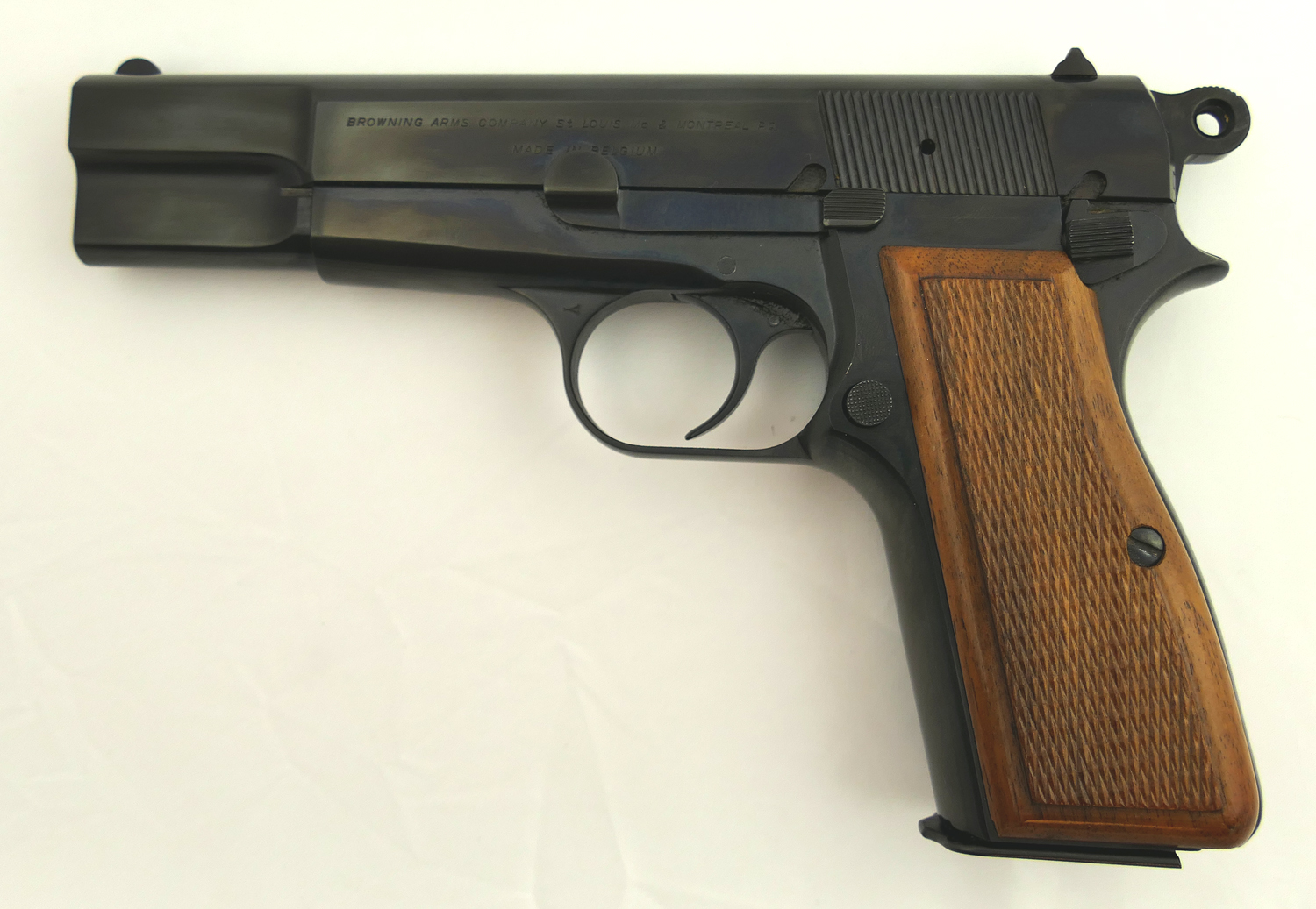 Where is the serial number on a browning auto 5 -