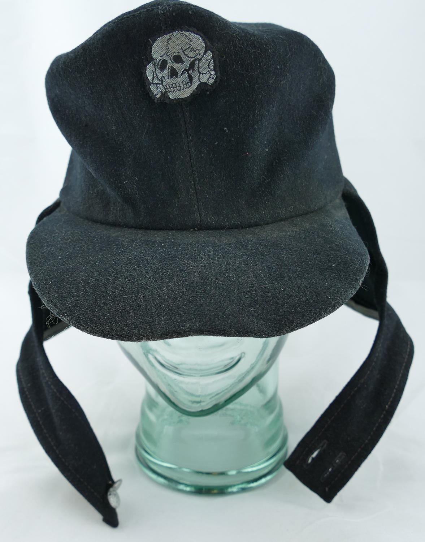 Nazi German WW2 SS Panzer Crewman's M43 Hat