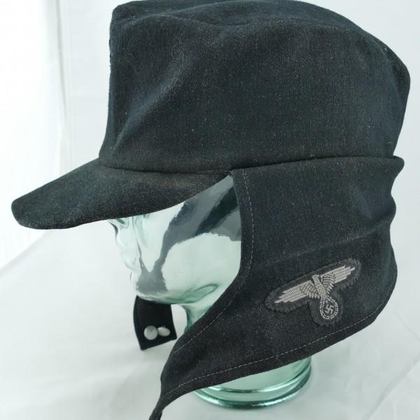 Ww2 German Police M43 Hat Badge: Nazi German WW2 SS Panzer Crewman's M43 Hat