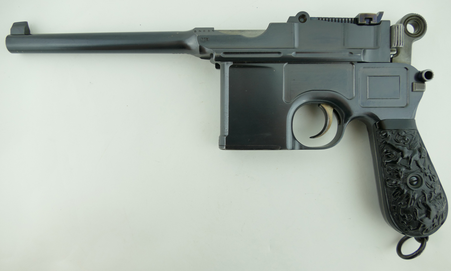 Sold Extremely Rare Mauser C96 Broomhandle Large Ring
