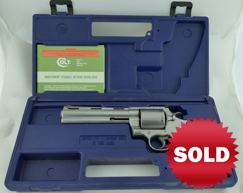 SOLD - Rare Colt Kodiak 44 Mag Revolver, Like New in Box