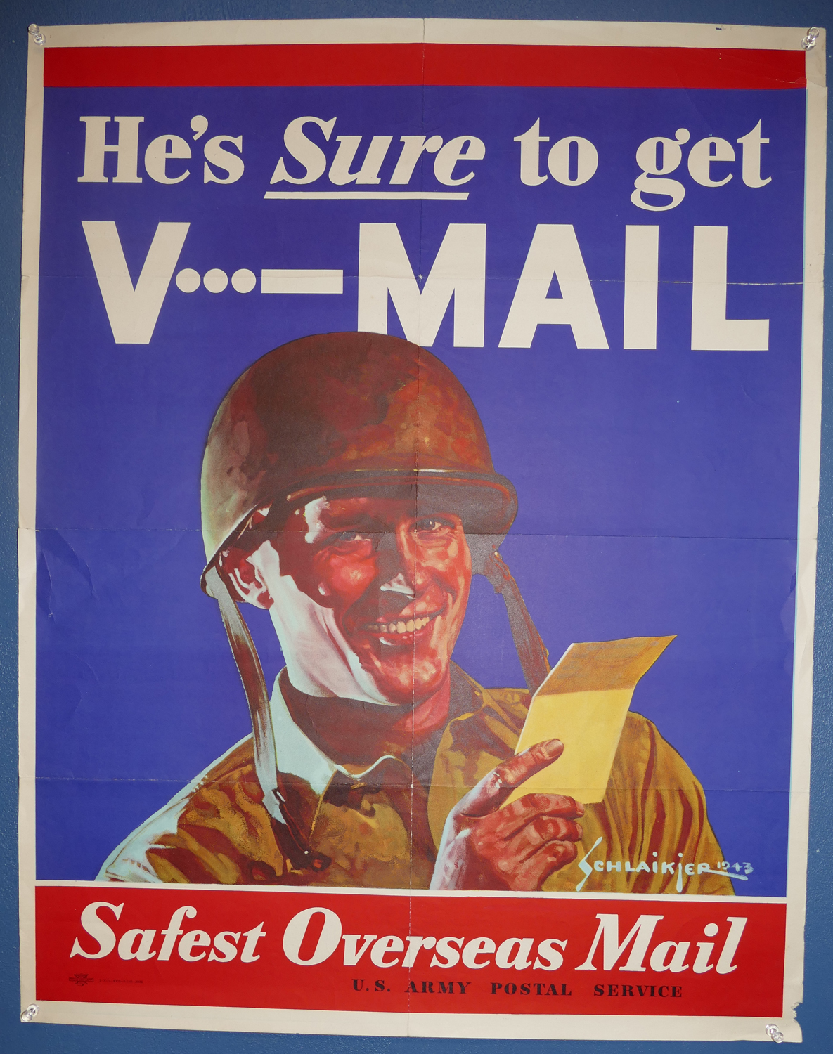 hes_sure_to_get_your_vmail_28_x_22_poster