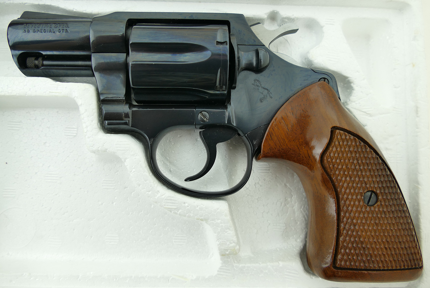 colt detective special dating The colt 38-caliber detective's special revolver, which was recovered  the  gun, which has a 1926 patent date, remains in fine mechanical.
