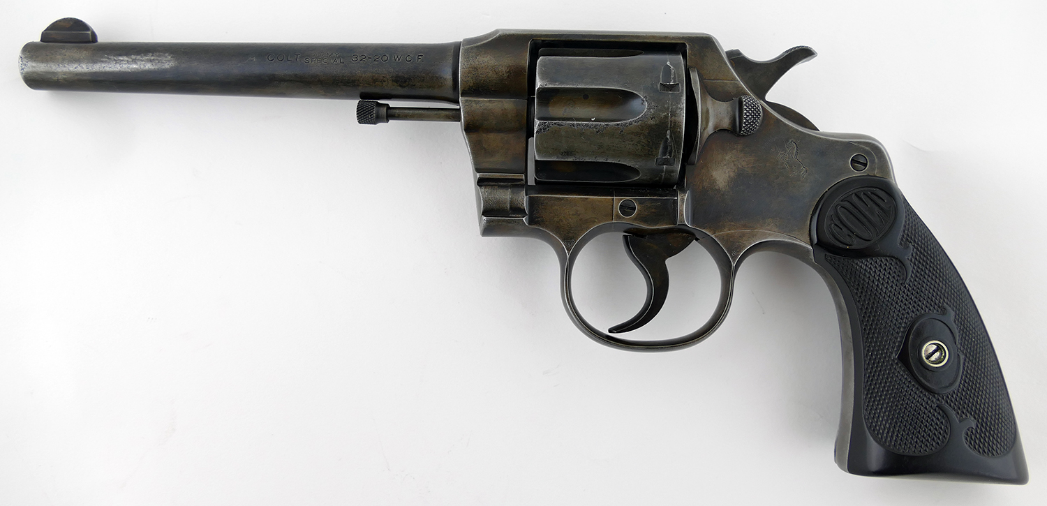Colt Army Special 32-20 Revolver, 1922 Mfg Date (Used)
