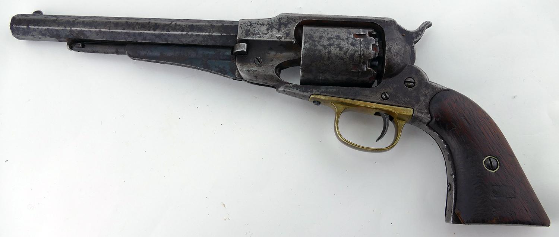 Remington 1858 New Army Martially Marked Revolver (Used)